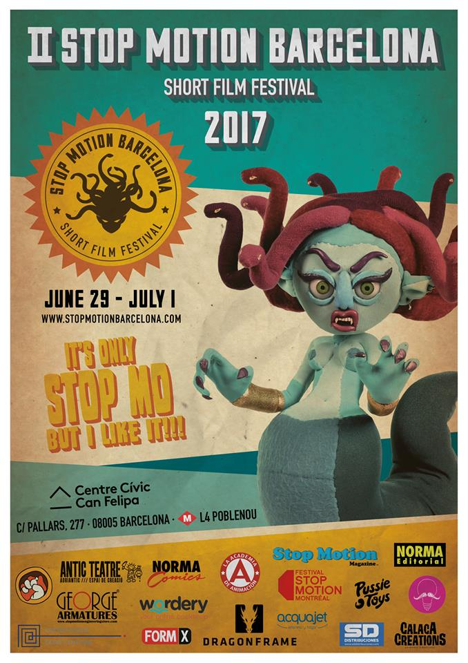 poster festival stop motion barcelona