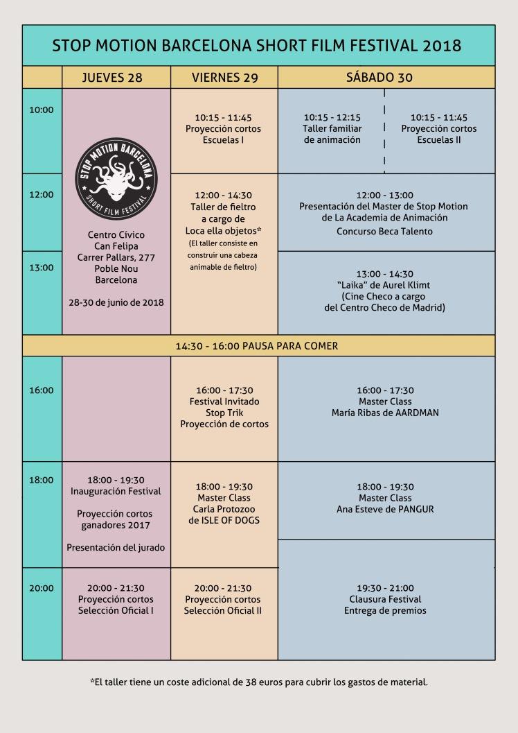 Programa festival 2018